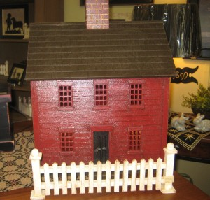 Red Saltbox