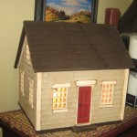 Taupe Saltbox