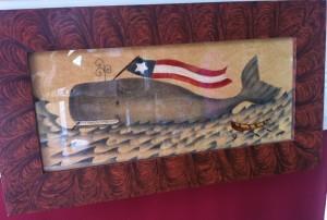 "Carole Behrer ""Nantucket Whale"""