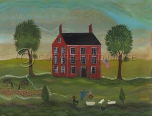 KES Landscape The Good Shepherd 23x30