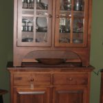 Brown Maple Hutch