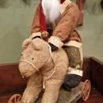 Arnett Santa Riding Bear