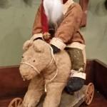 Arnett Santa Riding Bear