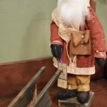 Arnett Santa with cart
