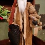 Arnett Santa with Teddy Bear
