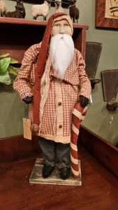 Arnett Santa with Candy Cane