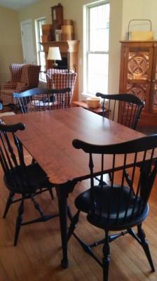 Benners Cherry Porringer Table