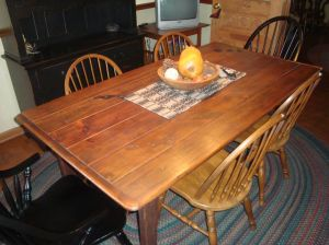 Barnwood Harvest Table