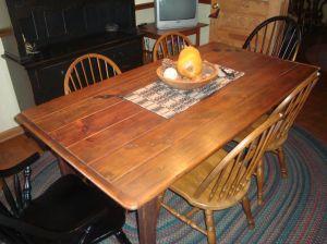 Barnwood Harvest Table