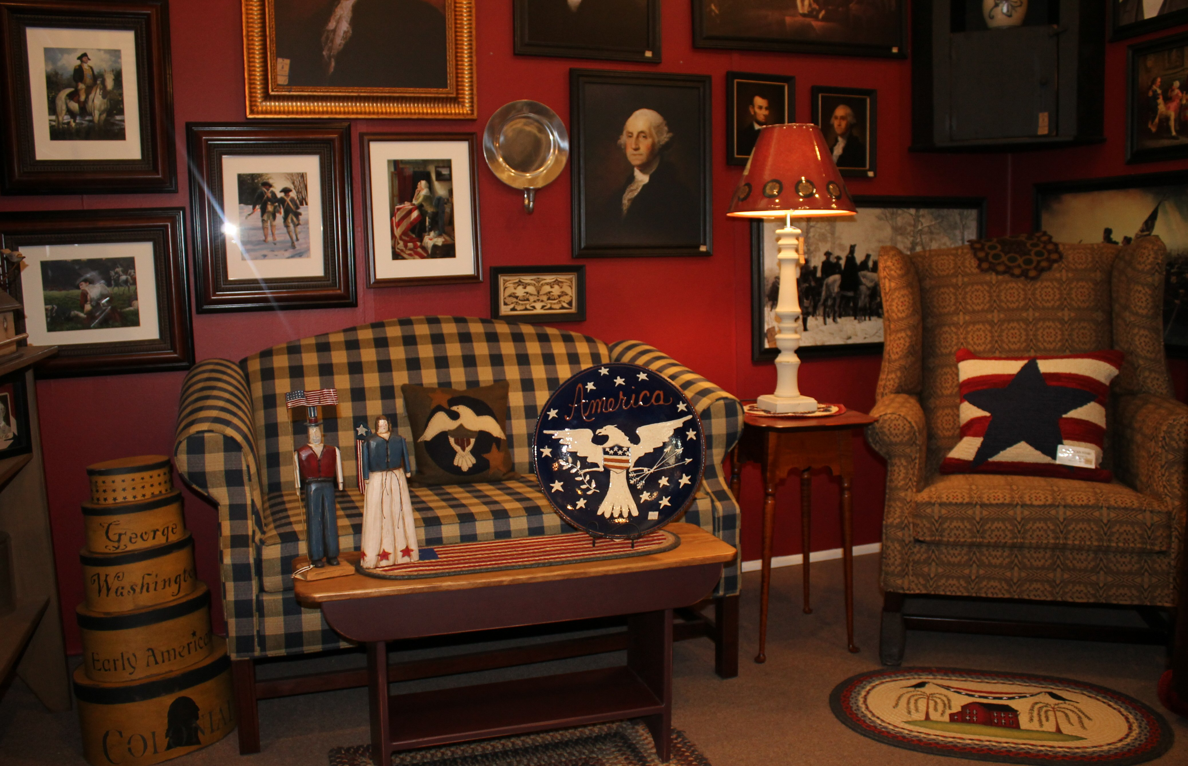 Colonial And Early American Decor