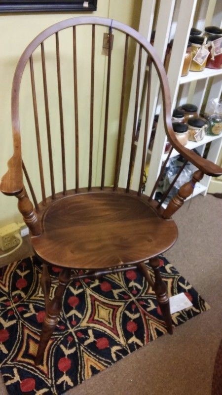 Amish made Continuous Arm Chair