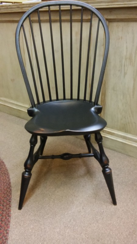 Amish Windsor Side And Arm Chair Colonial Housecolonial