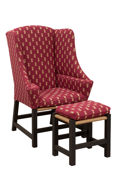Center Inn Gent Chair with Footstool