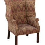 Devonshire chair with tight seat