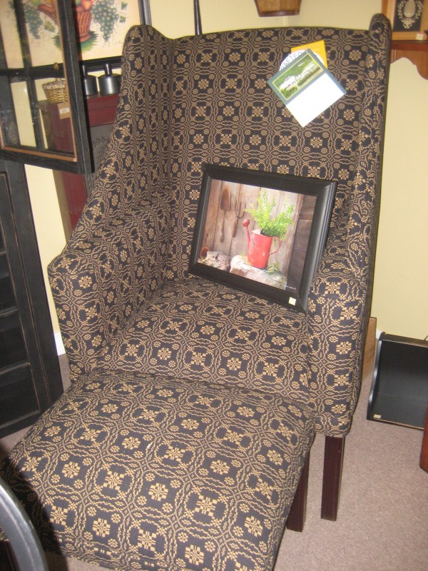 Portsmith Chair with Ottoman
