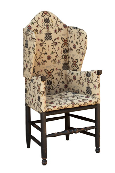 Make-Do Wing Chair