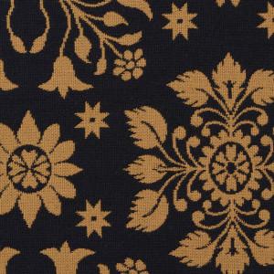 Snowflake-2029_Mustard_Black