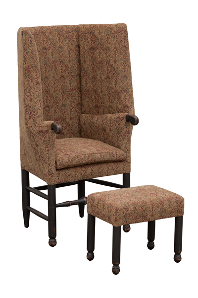 Woodstock shown with Footstool