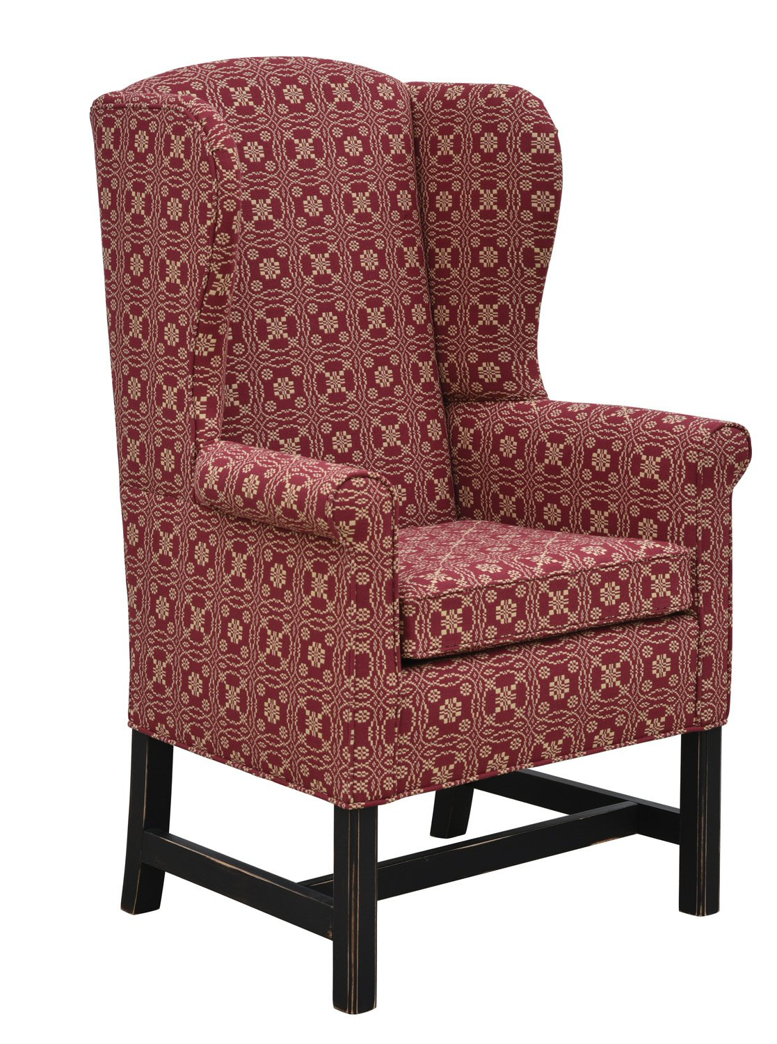 Library Wing Chair Colonial Housecolonial House