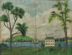 KES Landscape Ships in the Harbor Landscape