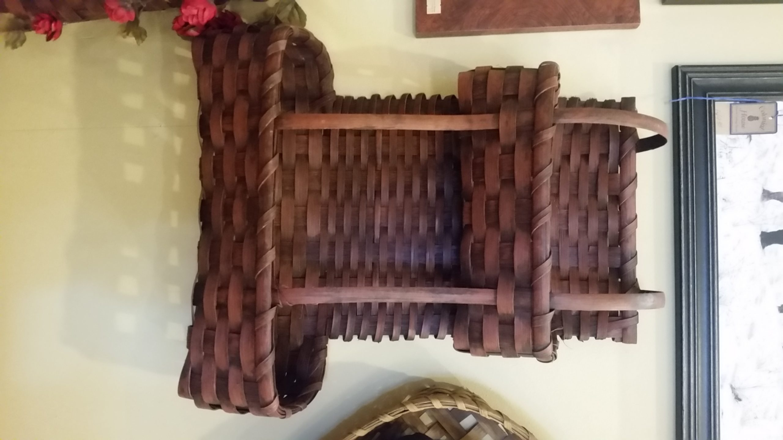 Red Tiered Basket by Gin