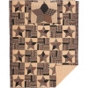 Bingham Star Twin Quilt Set; 1-Quilt 70Wx90L w/1 Sham 21x27