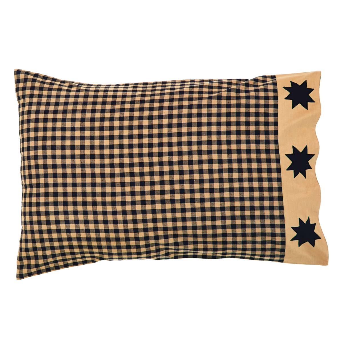 Dakota Star Standard Pillow Case Set of 2 21x30