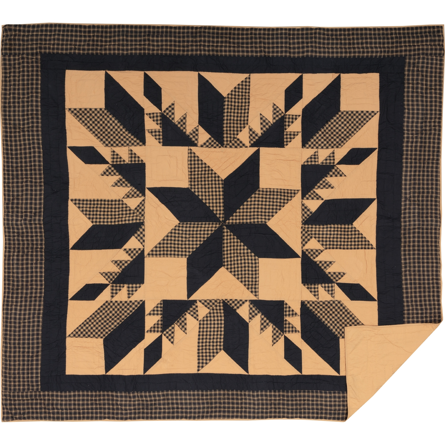 Dakota Star King Quilt 105Wx95L