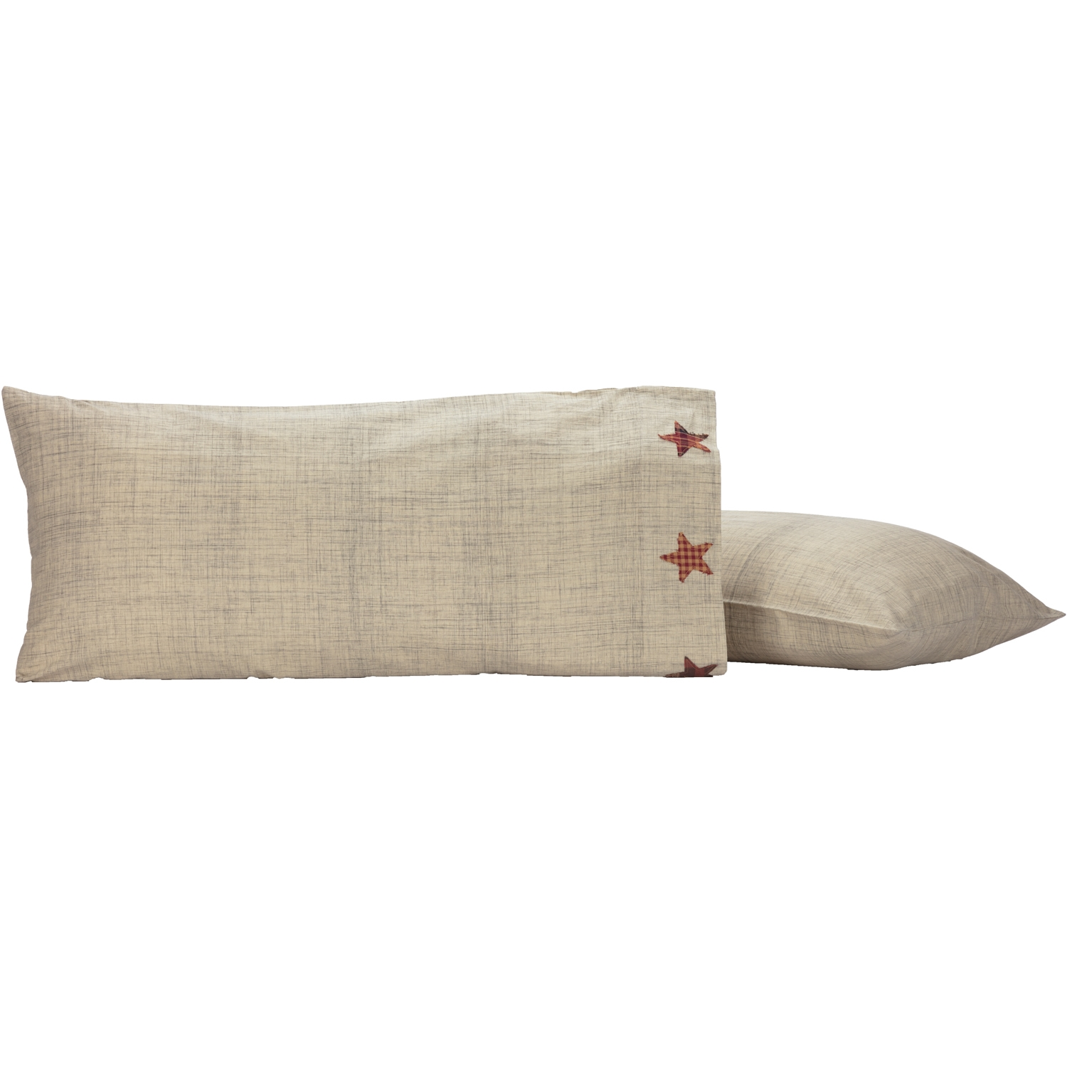 Abilene Star King Pillow Case Set of 2 21x40