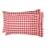 Annie Buffalo Red Check Standard Pillow Case Set of 2 21x30