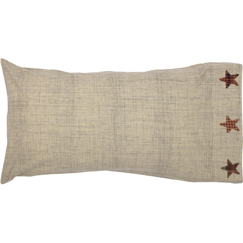 Abilene Star King Pillow Case Set of 2 21x40