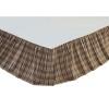 Wyatt Queen Bed Skirt 60x80x16