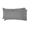 Annie Buffalo Black Check King Pillow Case Set of 2 21x40