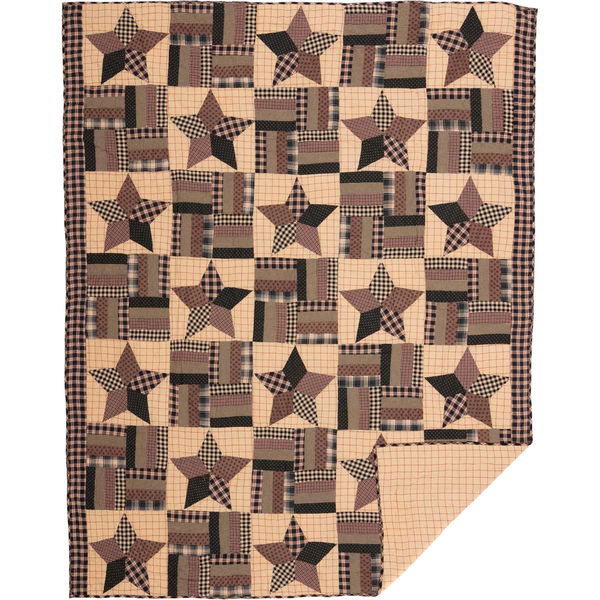 Bingham Star Twin Quilt 70Wx90L