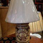Redware Lamp