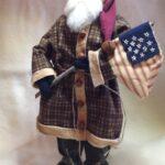 Santa with flag 2