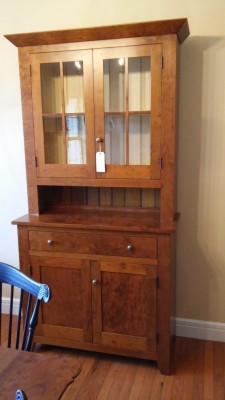 Benners Cherry Stepback Cupboard